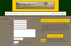 Als Custom Cutting