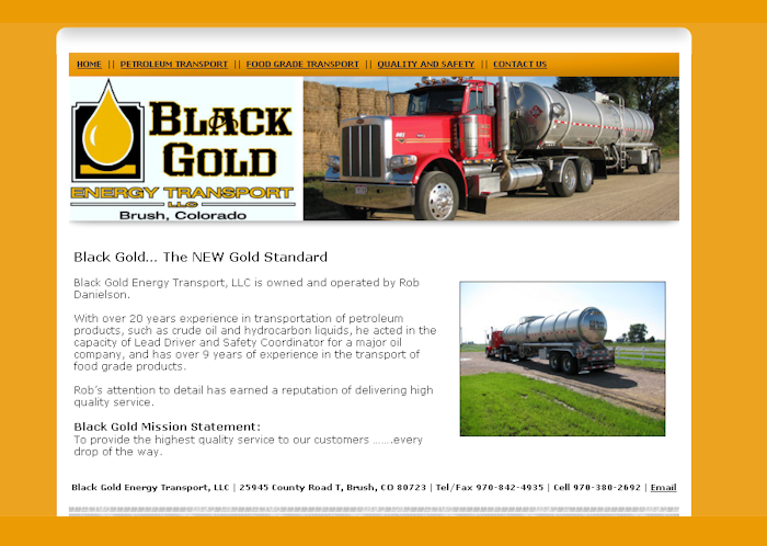 Black Gold Energy Transport