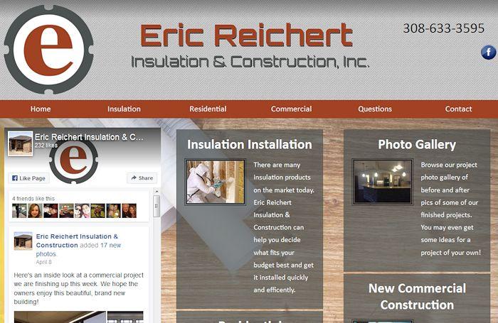 Eric Reichert Insulation and Construction, Inc.