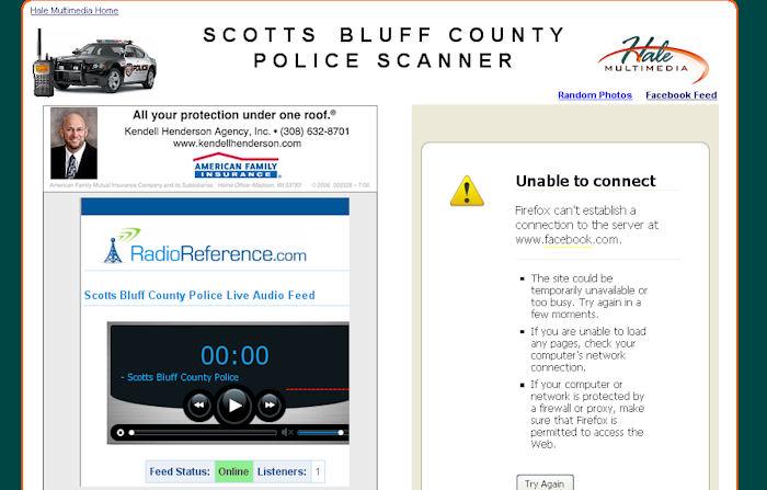 Scotts Bluff County Scanner