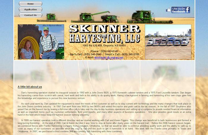 http://www.skinnerharvesting.com