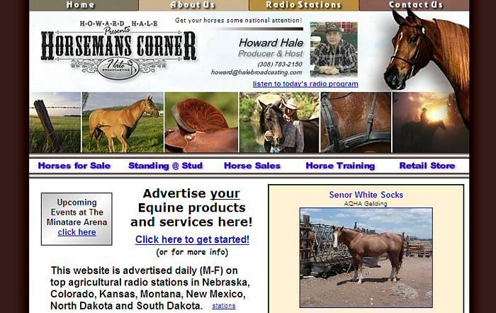 http://www.horsemanscorner.com