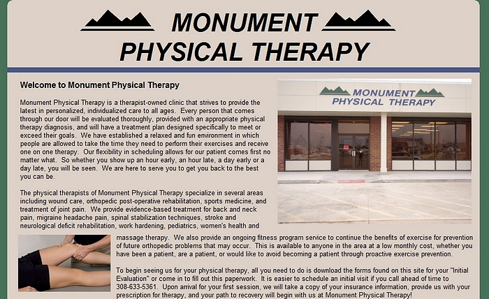 Monument Physical Therapy