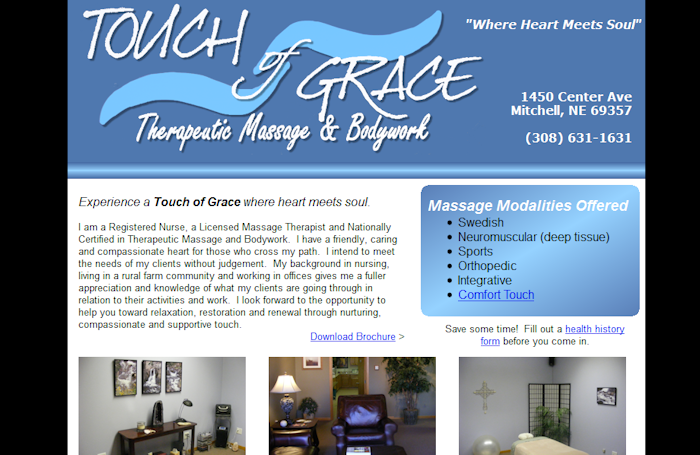 Touch of Grace Therapeutic Massage