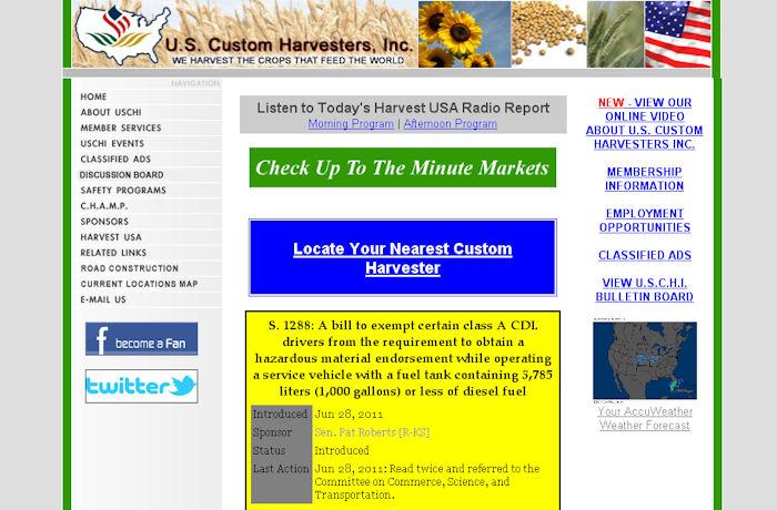 U.S. Custom Harvesters, Inc