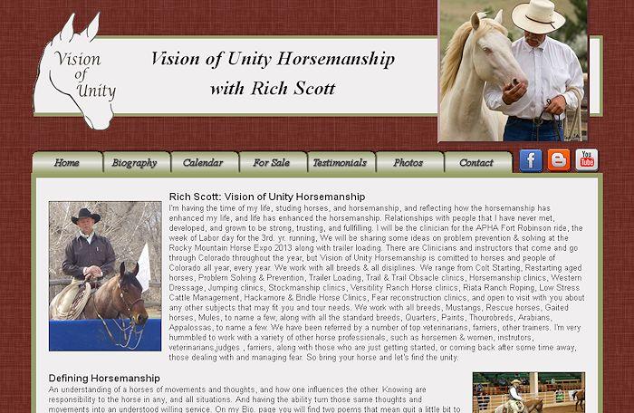 Vision of Unity Horsemanship