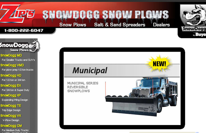 Zips Snow Plows by Snow Dogg