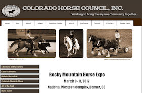 Rocky Mountain Horse Expo