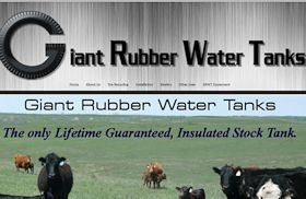 Giant Rubber Water Tanks