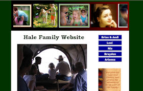 Hale Family Website