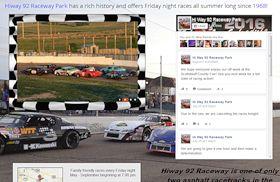 Hiway 92 Raceway Park