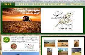 Larrys Custom Harvesting