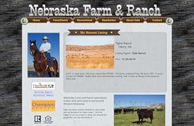 Nebraska Farm and Ranch Real Estate