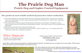 Prairie Dog Blaster