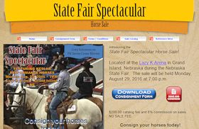 State Fair Spectacular Horse Sale