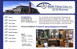 Bluffs Vision Care, P.C.